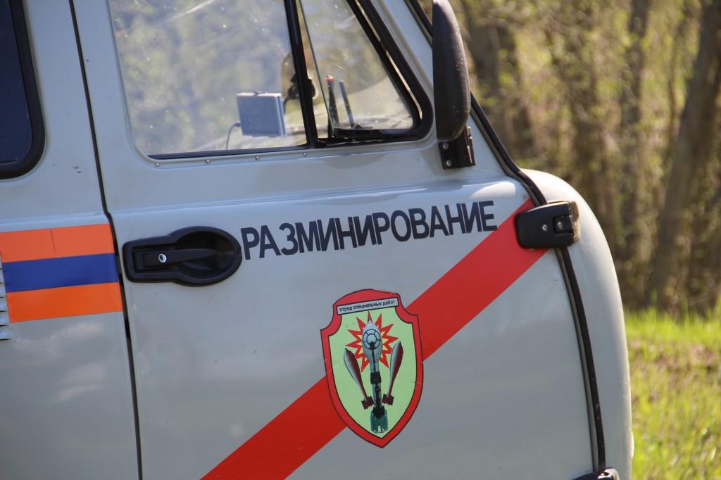 В Смоленске нашли снаряд времен Великой Отечественной войны