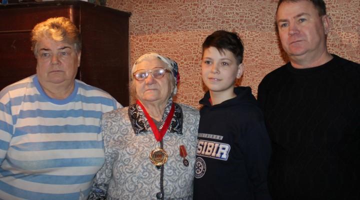 Жительница Смоленской области отметила столетний юбилей