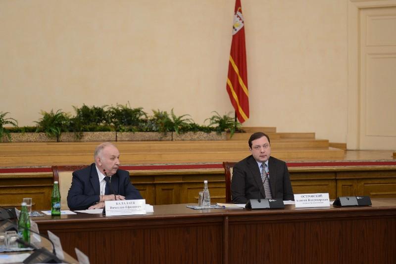 В администрации Смоленской области прошло расширенное заседание Президиума Совета муниципальных образований