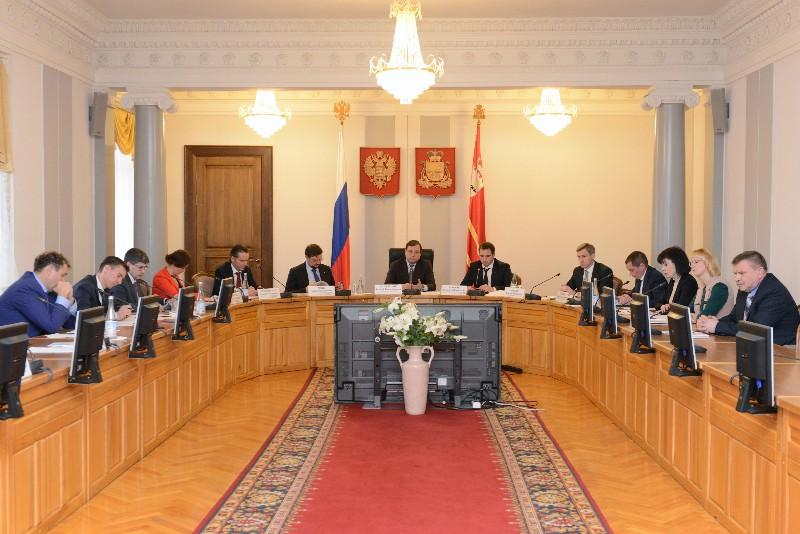 Губернатор Алексей Островский встретился с руководством «Деловой России»