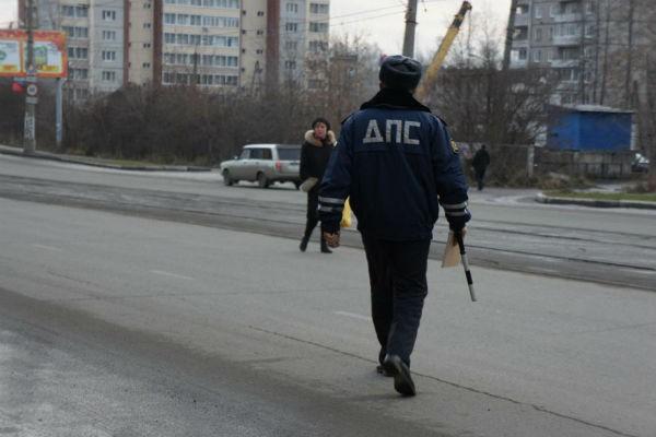 ГИБДД проводит в Смоленске операцию «Пешеходный переход»