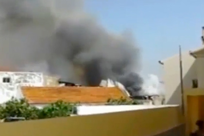 Легкомоторный самолет разбился в пригороде Лиссабона