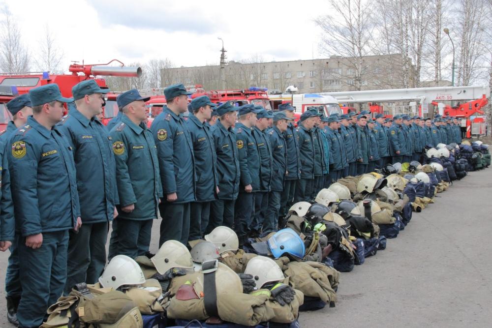 В Смоленской области проходят крупномасштабные учения МЧС