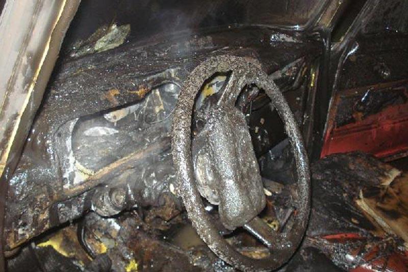 В Смоленске на ходу загорелся Volkswagen
