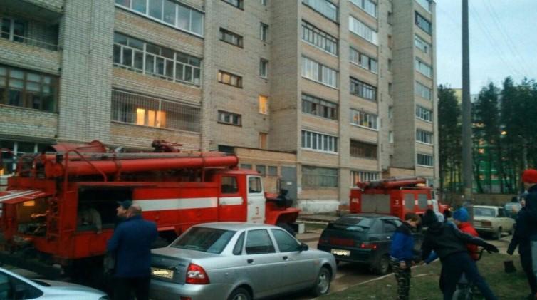 На Королевке в Смоленске при пожаре погиб мужчина