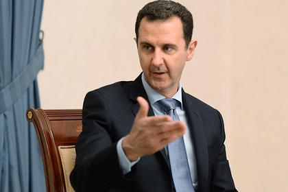 Асад обвинил Турцию в поставках химоружия террористам в Сирии