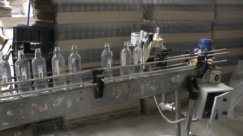В Смоленске ликвидировали нелегальное производство алкогольной продукции
