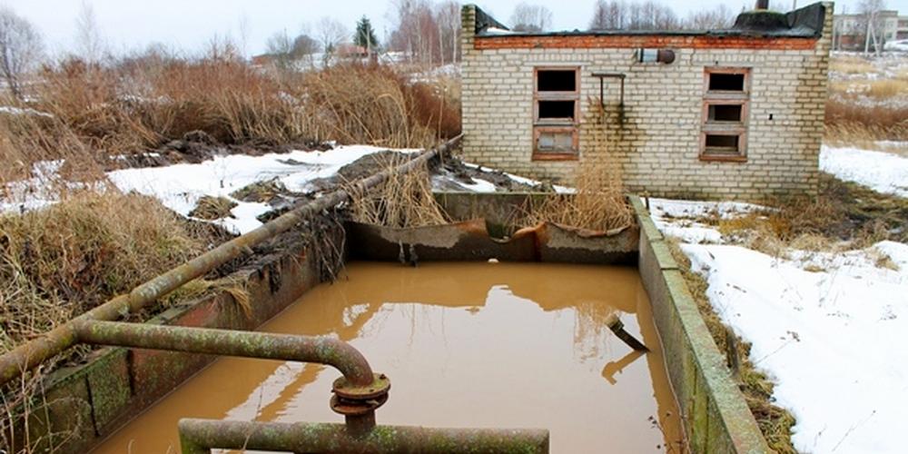 В деревне Суетово Ярцевского района отремонтируют очистные сооружения