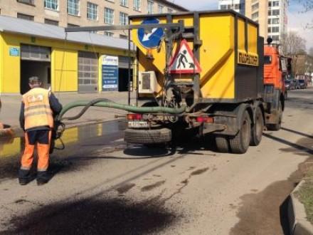 В Смоленске ремонтируют восемь улиц