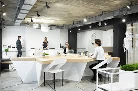 Концептуальная меблировка офисного помещения