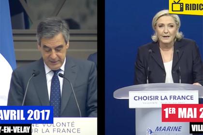 Ле Пен обвинили в плагиате предвыборной речи