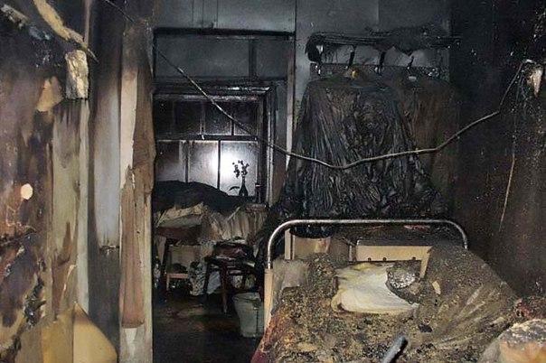В Рославле сгорели два дома: погиб мужчина