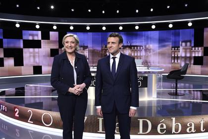 Макрон выиграл предвыборные дебаты во Франции