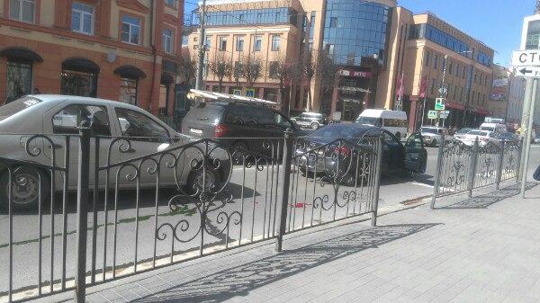 В Смоленске из-за ДТП на улице Большая Советская образовалась пробка