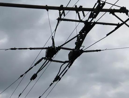 В Смоленске из-за обрыва проводов встали трамваи