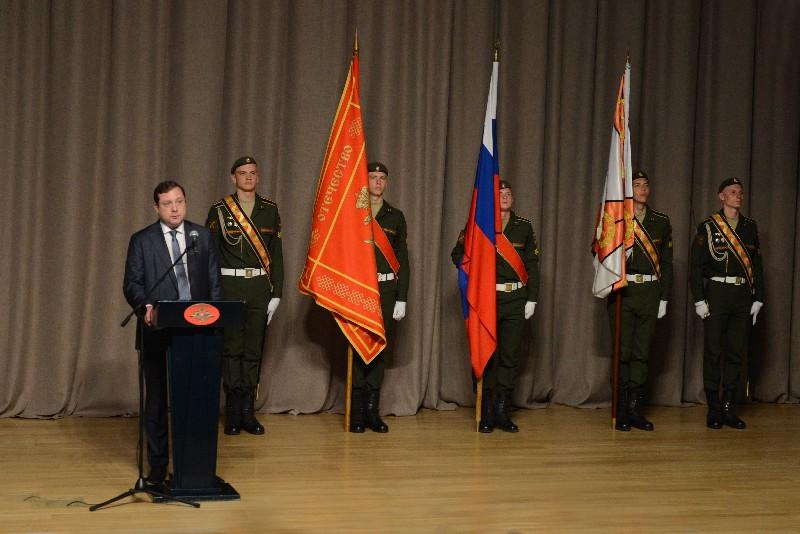 Военная академия войсковой ПВО отметила 25-летний юбилей