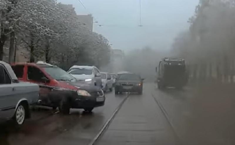 В Смоленске нарушитель попал на видео