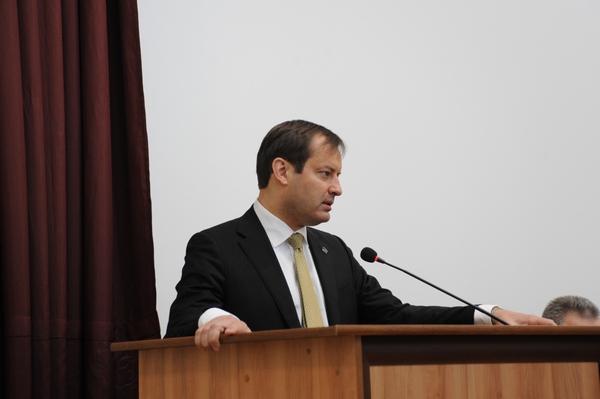 В Смоленске представили нового руководителя медуниверситета
