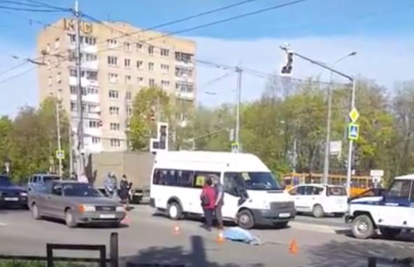Появилось видео с места ДТП, в котором погибла 63-летняя смолянка