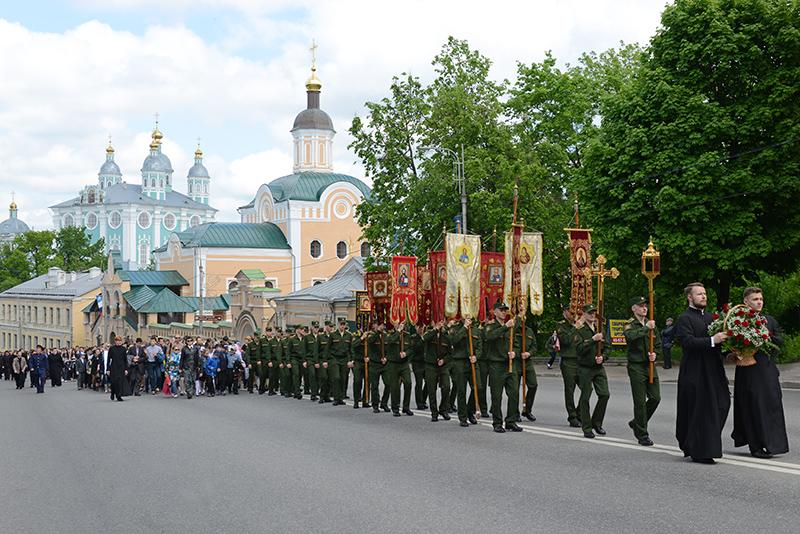 В Смоленске в День славянской письменности и культуры перекроют центр города