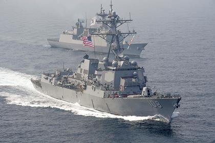 Пекин резко отреагировал на маневры американского корабля в Южно-Китайском море