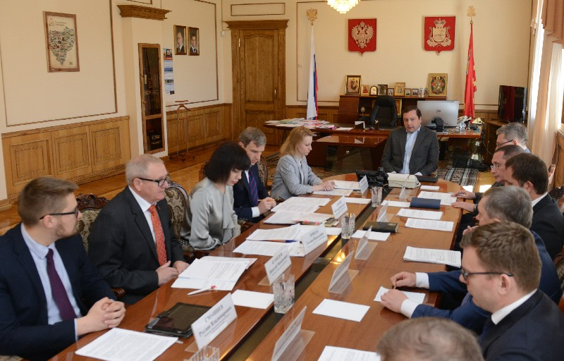 В администрации региона обсудили вопросы кадровой политики в областных государственных учреждениях