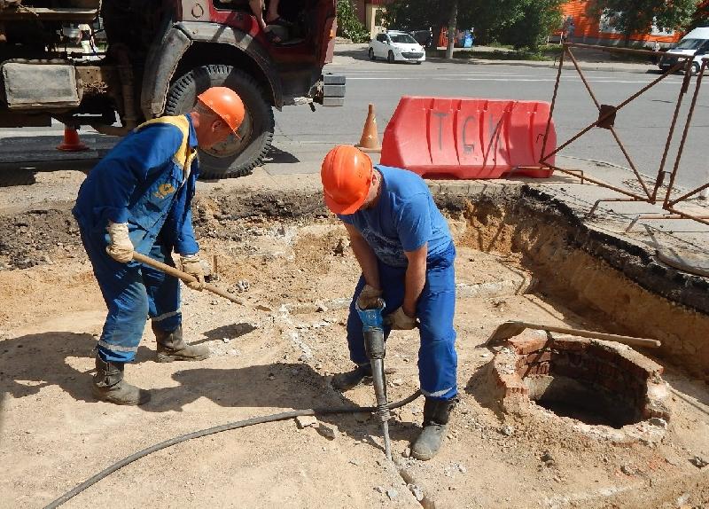 В Смоленске в районе Колхозной площади отключили горячую воду