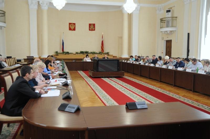 Состоялось заседание Общественной палаты Смоленской области V состава