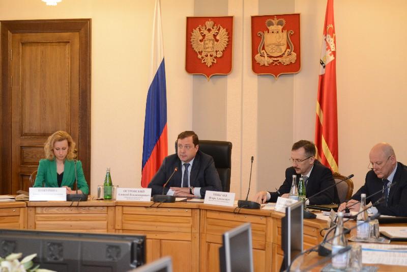 Губернатор провел заседание Комиссии по координации работы по противодействию коррупции в Смоленской области