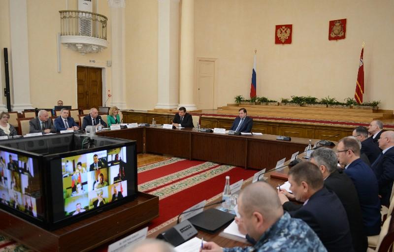 В администрации Смоленской области обсудили вопросы обеспечения правопорядка