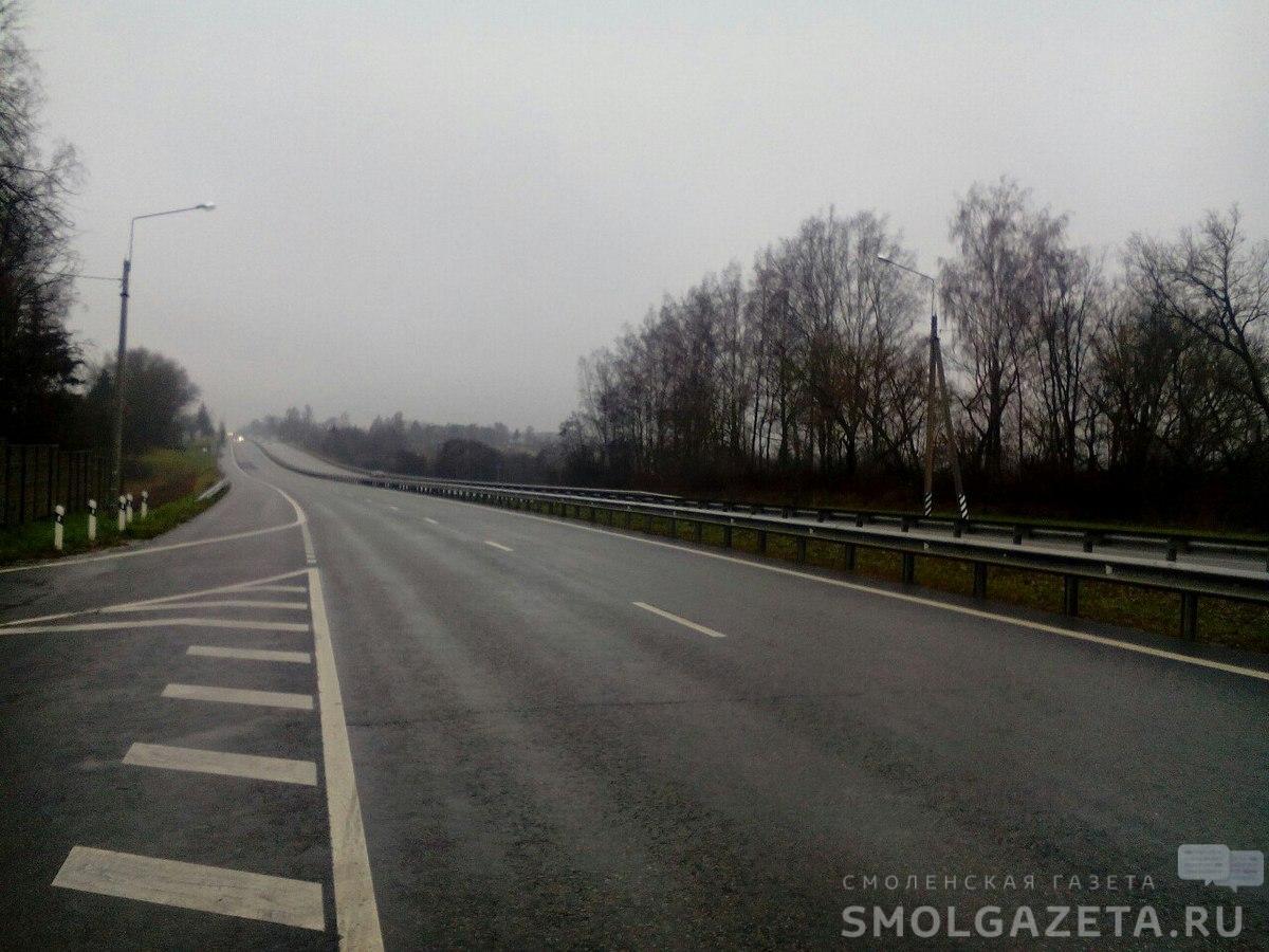 На автодороге между Смоленском и Брянском ВАЗ протаранил «Ниву»