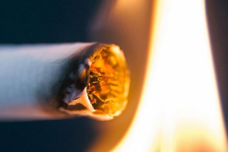 В Демидовском районе из-за непотушенной сигареты сгорел дом