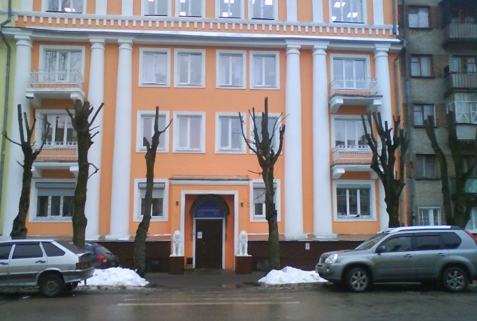 В Смоленске выставлен на продажу «дом со львами»