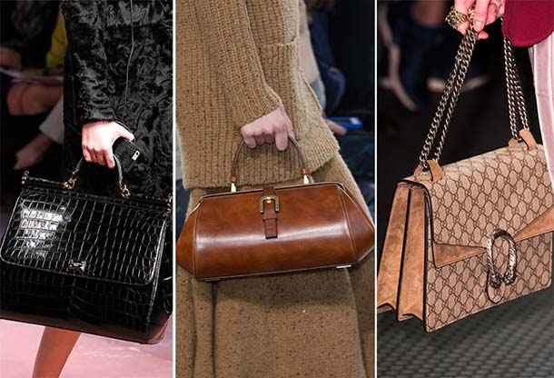 Размеры и модели женских сумок, модные в 2017 году