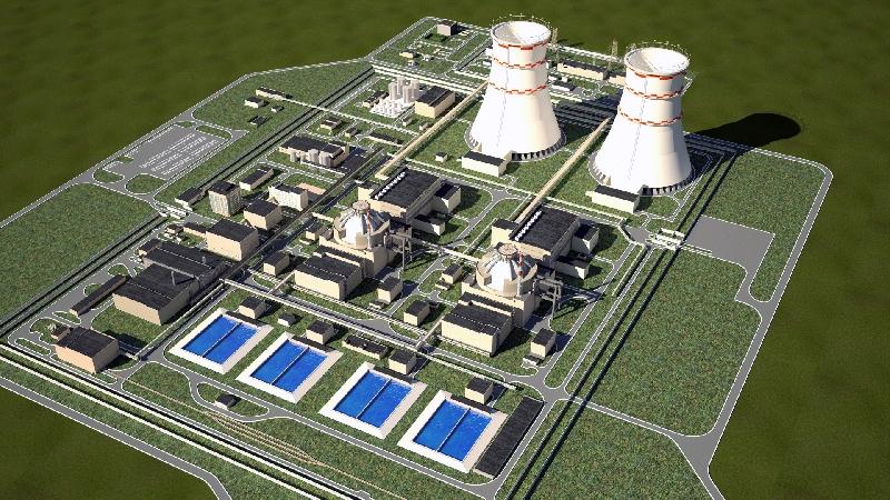 Площадка под строительство Смоленской АЭС-2 «вышла из леса»