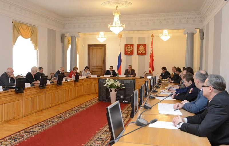 В администрации Смоленской области прошло заседание Координационного совета по межнациональным отношениям