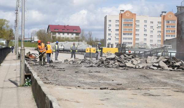 Стала известна дата окончания ремонта Беляевского путепровода