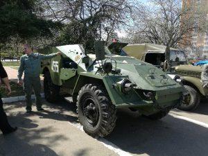 По Смоленску проедет колонна военной техники