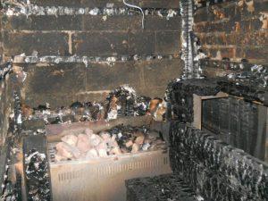 Смолянин пострадал при пожаре в бане