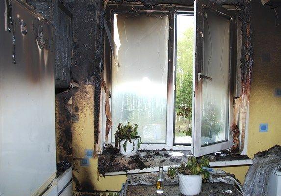 Ночью в Смоленске в пожаре пострадал пенсионер