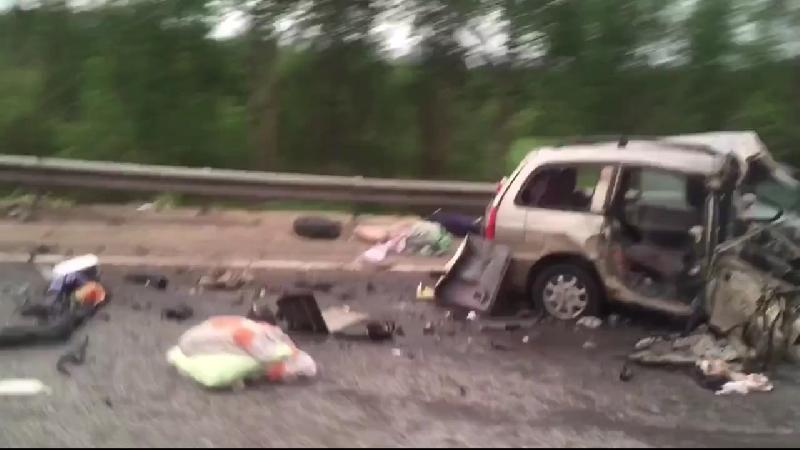 В ДТП под Смоленском погиб пассажир иномарки