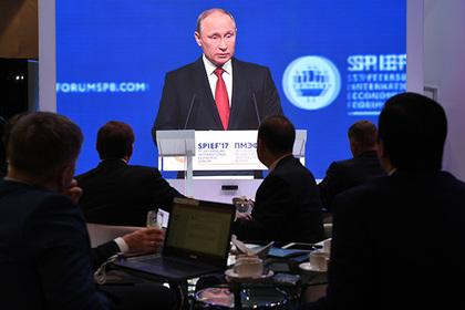 Путин рассказал о новом подъеме в экономике России