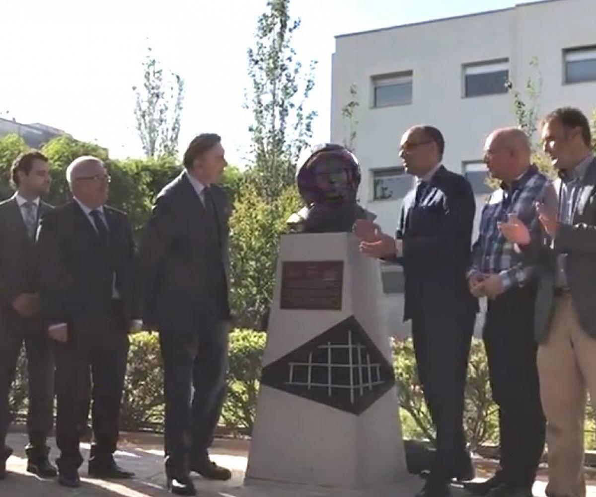 Бюст Гагарина установили в Испании
