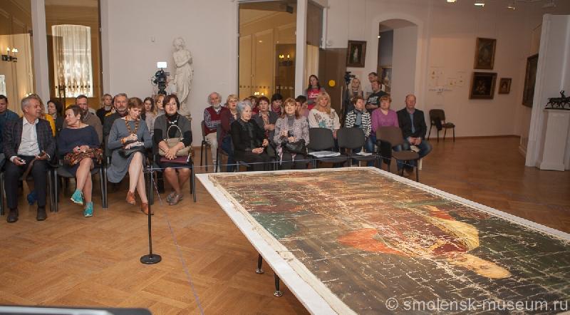 Смоленский музей-заповедник получил в дар парадный портрет императора Франца Иосифа