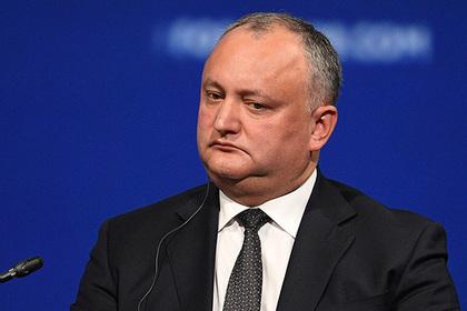 Суд запретил президенту Молдавии проводить референдум о расширении полномочий