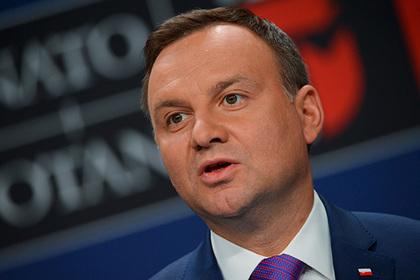 Президент Польши пообещал наложить вето на законы о Верховном суде