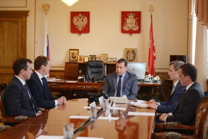 Губернатор Алексей Островский провел рабочую встречу с представителями Агентства стратегических инициатив