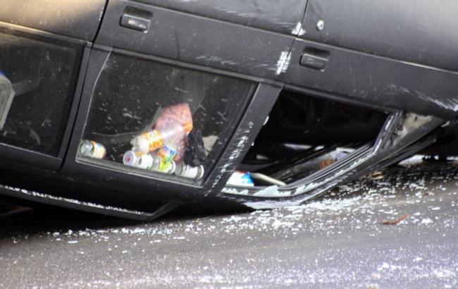 В Смоленской области по вине водителя без прав пострадала женщина