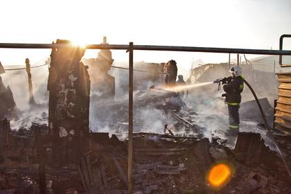 Четверо детей погибли при пожаре в Челябинской области