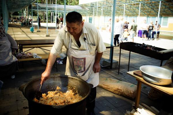 Сабантуй в Смоленске: ешь, борись, танцуй
